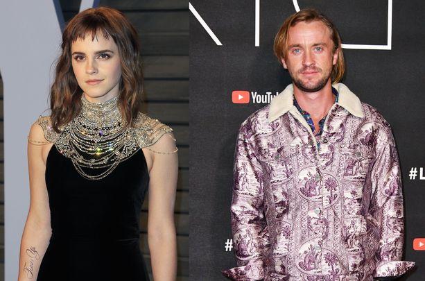 Emma Watson ja Tom Felton ovat tunteneet toisensa jo pienestä pitäen.