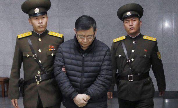 Kanadalainen Hyeon Soo Limin tuomittiin elinkautiseen pakkotyöhön Pohjois-Koreassa.