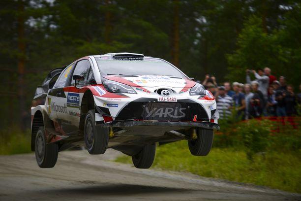 Esapekka Lappi ajoi viime viikonloppuna upeaan voittoon Jyväskylän MM-rallissa.