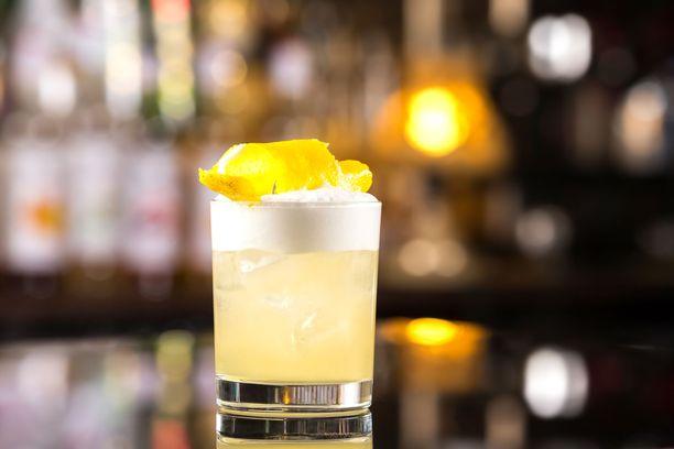 Sokerilientä käytetään esimerkiksi whiskey sourin valmistamisessa.