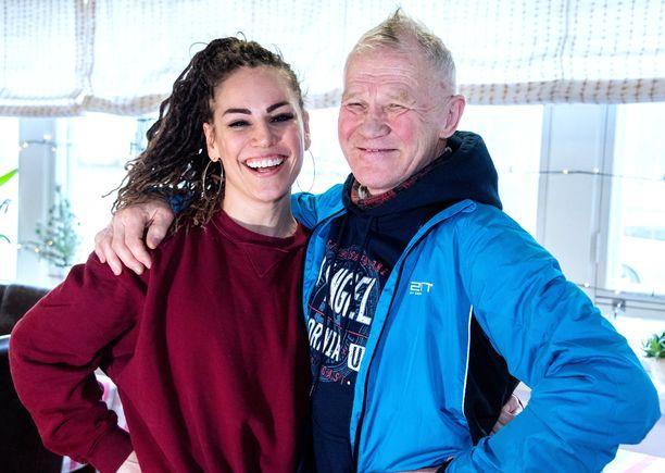Eeva Wahlströmin ja Risto Merosen valmennussuhteesta on kehkeytynyt vankka ystävyys.