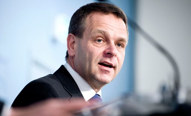 Elinkeinoministeri Jan Vapaavuori (kok).