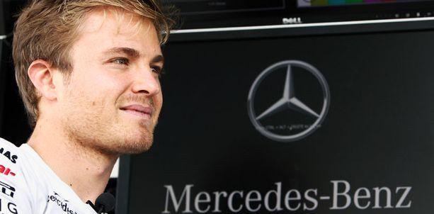 Nico Rosberg ei ole menettänyt uskoaan Mercedesiin.