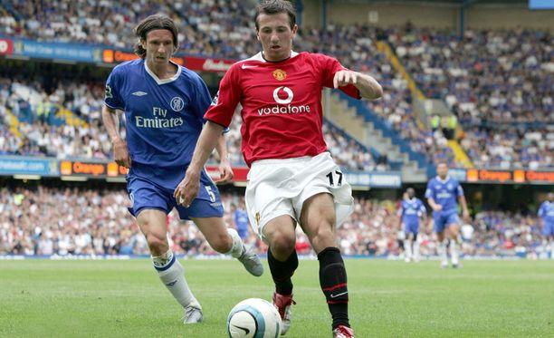 Liam Miller siirtyi Celticistä Manchester Unitediin vuonna 2004, mutta aika englantilaisjätin riveissä jäi lopulta vain yhden kokonaisen kauden mittaiseksi.