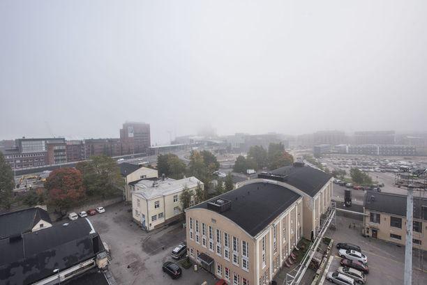 Horisonttisaunan korkeuksista näkee, millaiset maisemat aikanaan avautuvat Suomen korkeimmasta tornitalosta ja sen saunasta.