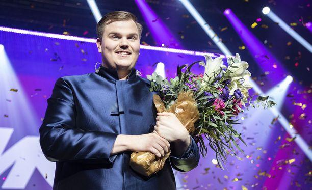 Aksel Kankaanrannan voittokappaletta ei kuulla Euroviisuissa.