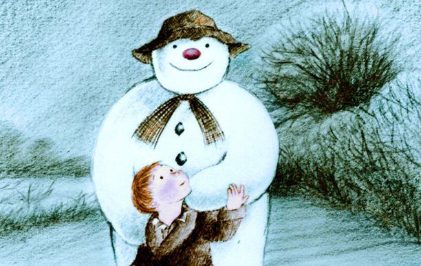 Alkuperäisen Lumiukon jälkeen katsellaan vielä tarinan jatko-osa Lumiukko ja lumikoira kello 12.00.