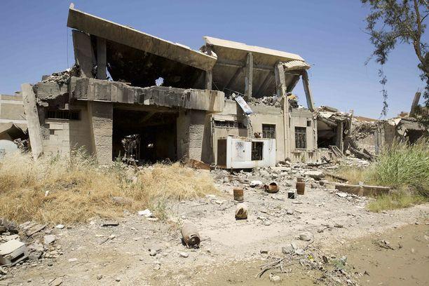 Mosul on tuhoutunut muun muassa Isisin ja Irakin armeijan välisissä taisteluissa.