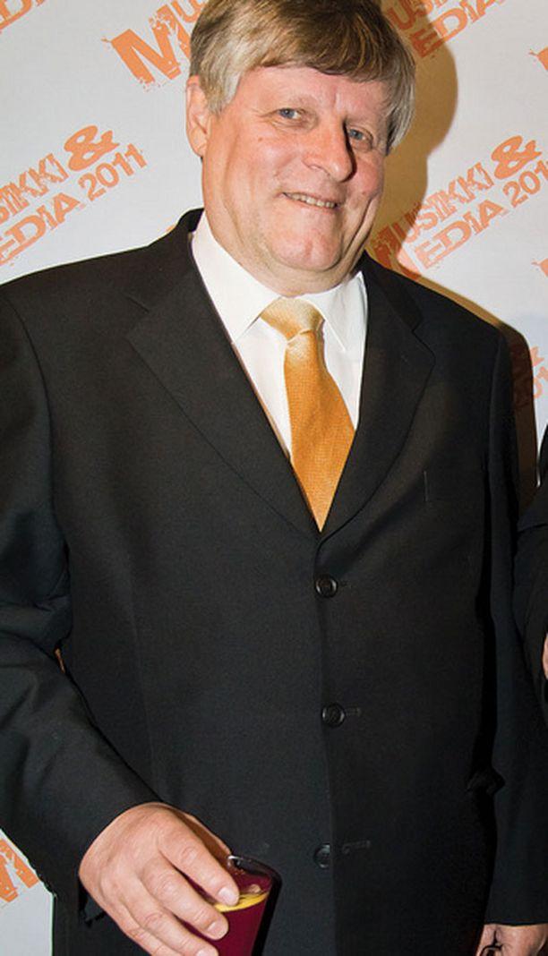 Tavastian toimitusjohtaja Juhani Merimaa valittiin vuoden promoottoriksi.