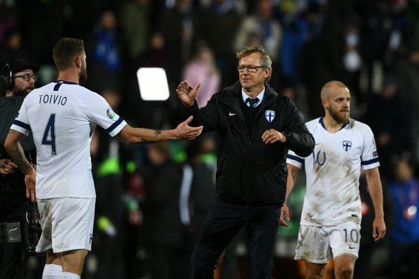 Markku Kanerva vie Suomea kohti EM-lopputurnausta.