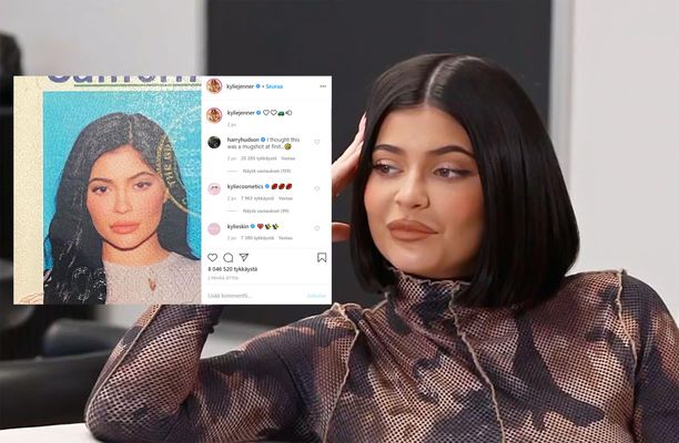 Kylie Jennerin tuore Instagram-kuva on saanut aikaan kohun.