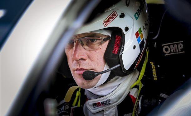 Jari-Matti Latvala oli 10. erikoiskokeella porukan neljänneksi nopein.