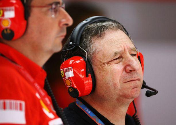 Ferrarin ex-pomo nähtiin Malesiassa tutulla paikallaan.