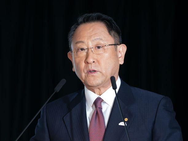 Akio Toyoda avautui Sardinian MM-rallin päätöksestä.