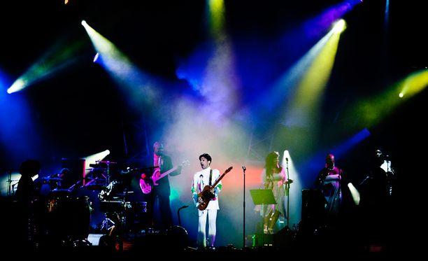 Prince keikalla heinäkuussa 2010.