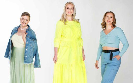 Uskoisitko? Kolme naista, kaikilla sama vaatekoko – tämä on Suomen yleisin vaatekoko