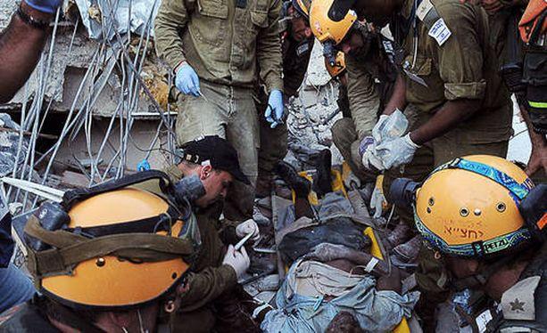 Haitin pääkaupunki Port-au-Prince kärsi järistyksessä lähes täydellisen tuhon.