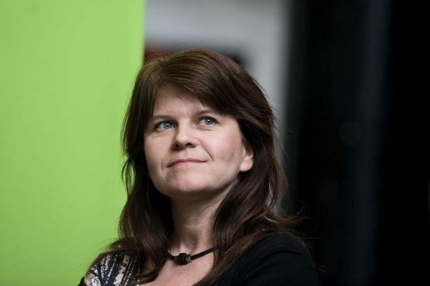 Outi Alanko-Kahiluoto ei lähde tavoittelemaan vihreiden puheenjohtajuutta.
