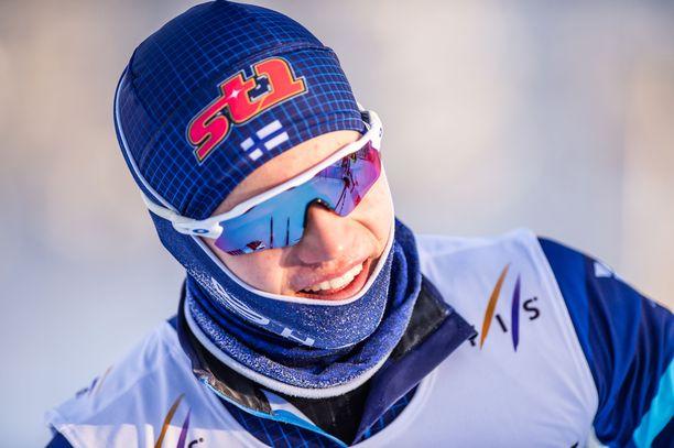 Niilo Moilanen oli nopein myös sprintin karsinnassa.