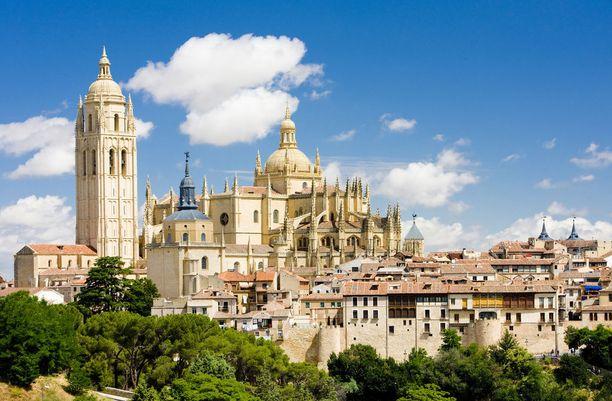 Segovian vanhakaupunki on täynnä historiaa.