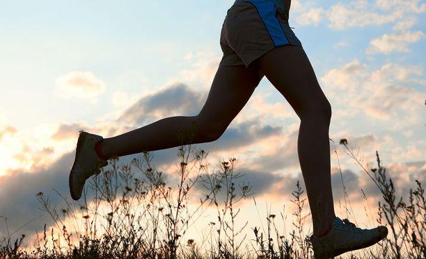 Juoksu on helppo ja tehokas tapa liikkua.