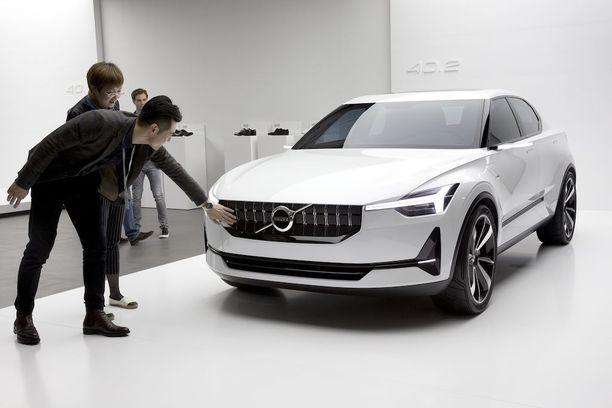 Volvo toistaiseksi pienin mallijulkistus on tuleva 40-sarja. Kuvassa konseptimalli 40.2.