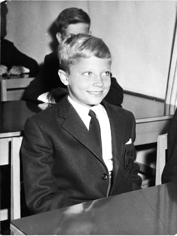 Koulupoika-prinssi vuonna 1960.