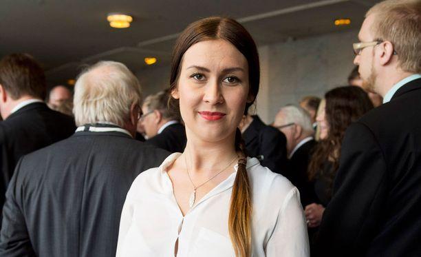 Kansanedustaja Tiina Elovaara on Uusi vaihtoetho -ryhmän varapuheenjohtaja.