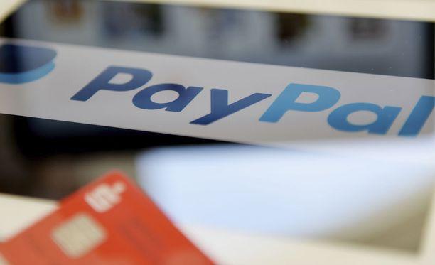 PayPal-palvelua voi käyttää nyt myös suomeksi.