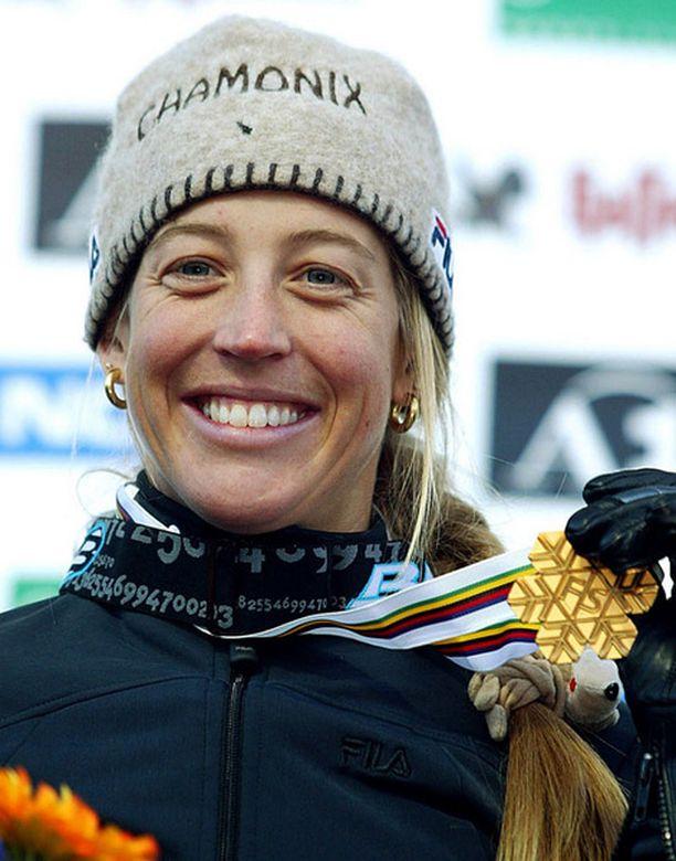 Karine Ruby voitti urallaan kuusi maailmanmestaruutta ja olympiakullan.