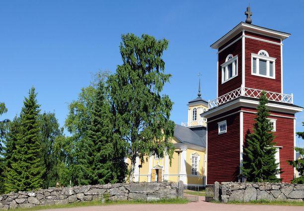 Ahlaisten kirkko on Porin vanhin.