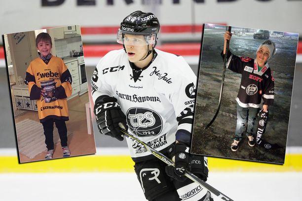 Kristian Sandell on viime aikoina saanut runsaasti ilonaiheita kiekkokansalta, muun muassa TPS-pelaaja Petrus Palmulta.