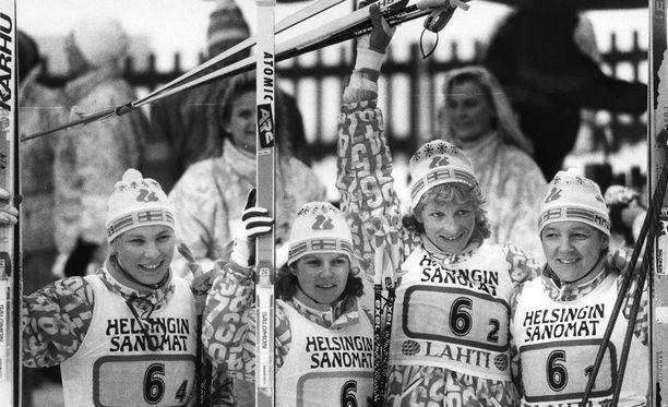 Lahti on maailman kokenein MM-hiihtojen isäntäkaupunki. Vuonna 1989 juhlittiin muun muassa naisten viestikultaa.