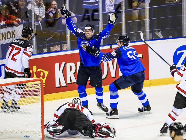 Kaapo Kakko on ollut Suomen ykkösnimi hyökkäyspäässä.