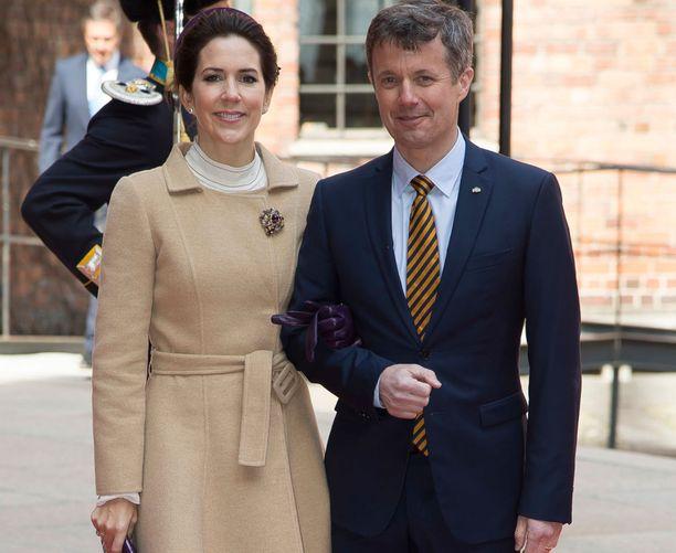 Tanskan kruununprinsessa Mary ja kruununprinssi Frederik osallistuivat huhtikuun lopussa kuningas Kaarle Kustaan syntymäpäiväjuhlallisuuksiin.