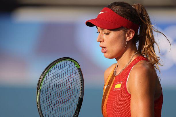 Paula Badosan turnaus päättyi.