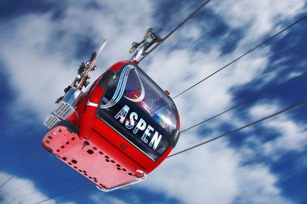 Aspen on vertailun hiihtokeskuksista tänä talvena kallein.
