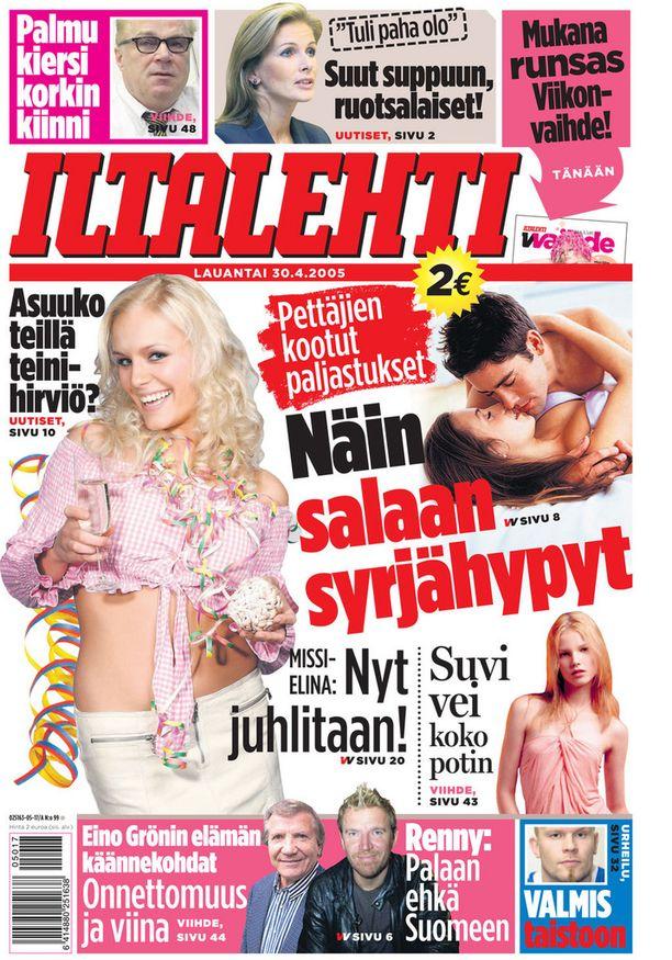Vuosi 2005, kannessa Elina Nurmi.