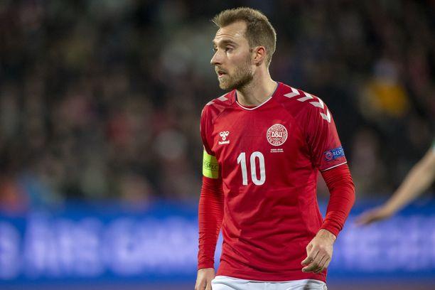 Christian Eriksen johdattaa Tanskan tänään Irlannin kimppuun.