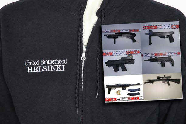 Poliisi tämän vuoden alussa alkaneen esitutkinnan aikana takavarikoinut noin 30 ampuma-asetta liittyen epäiltyyn United Brotherhoodin rikoskokonaisuuteen.