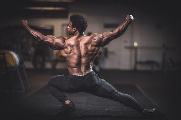 37-vuotias Breon Ansley on treenannut kehonrakennusta kisamielessä vuodesta 2012 alkaen.