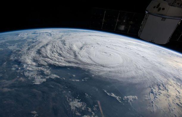 NASA kuvasi Harveyn avaruudesta.