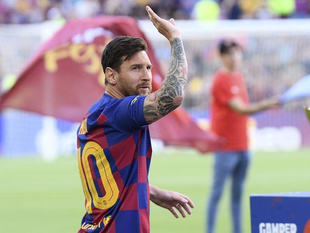 Lionel Messi on osallistunut Barcelonan joukkueharjoituksiin muutaman päivän ajan.