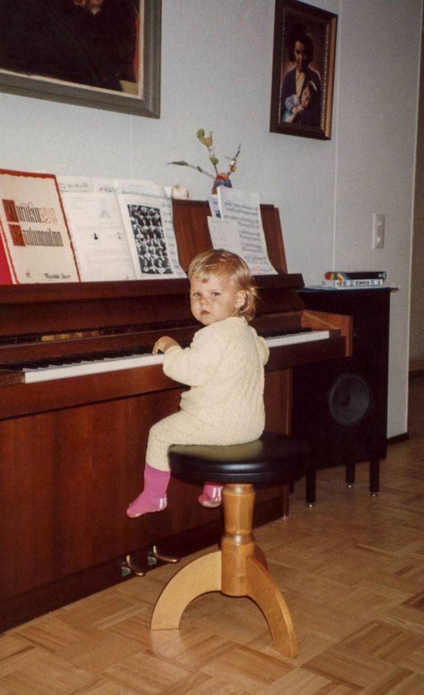 Musikaalisuus kulkee Aaltojen suvussa.