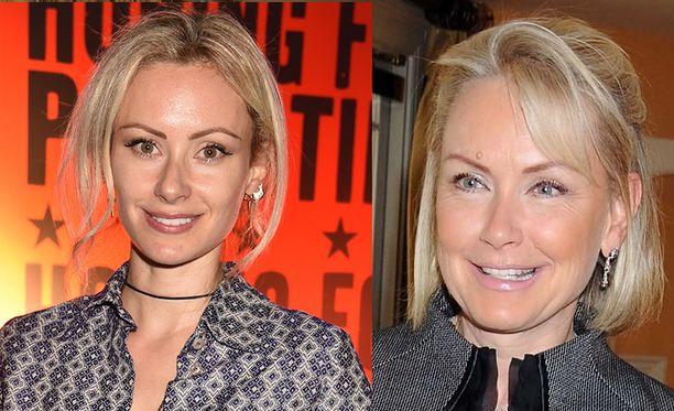 Camilla al-Fayed on perinyt äitinsä Heini Wathénin kauneuden.