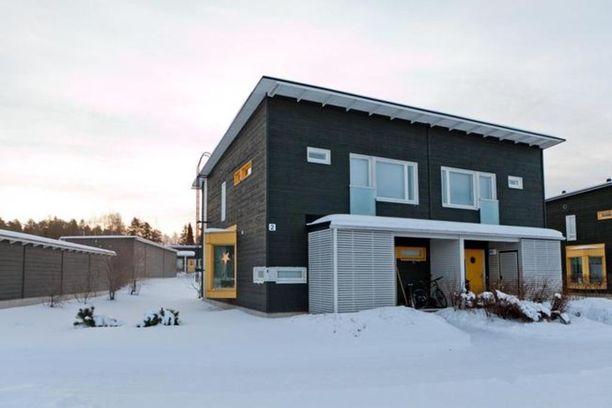 Tässä oululaisessa paritalohuoneistossa on pinta-alaa 108 neliötä ja sen pyyntihinta on 198 500 euroa.