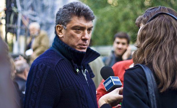 Boris Nemtsov surmattiin kadulle helmikuussa Moskovassa.