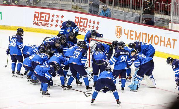 Pikkuleijonat jatkaa upeasti alkanutta MM-turnausta puolivälieräottelulla Valko-Venäjää vastaan.