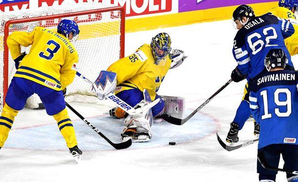 Henrik Lundqvist loukkaantui.