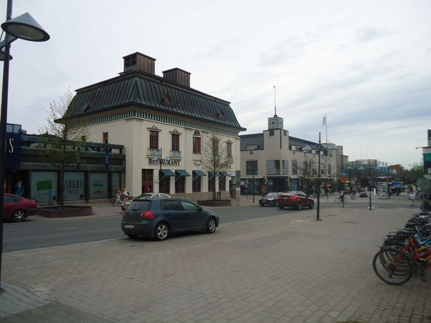 Arkistokuva Lappeenrannan keskustasta. Tarkasta tapahtumapaikasta ei ole tietoa.